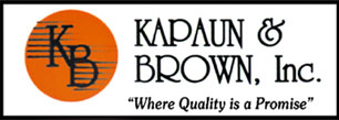 Kapaun & Brown Inc. Logo